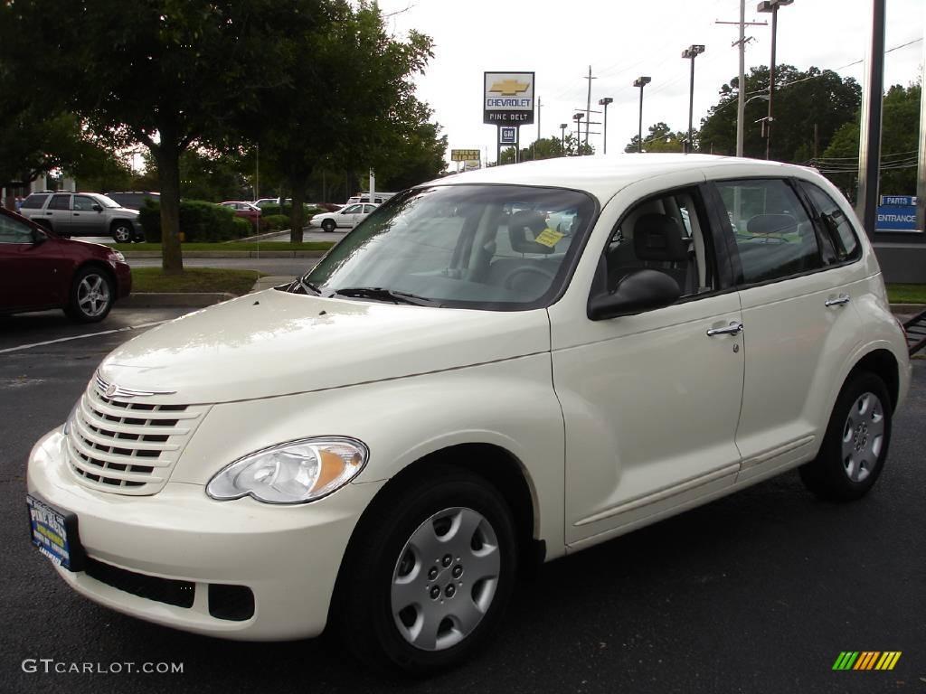 2008 Cool Vanilla White Chrysler Pt Cruiser Lx 17097791