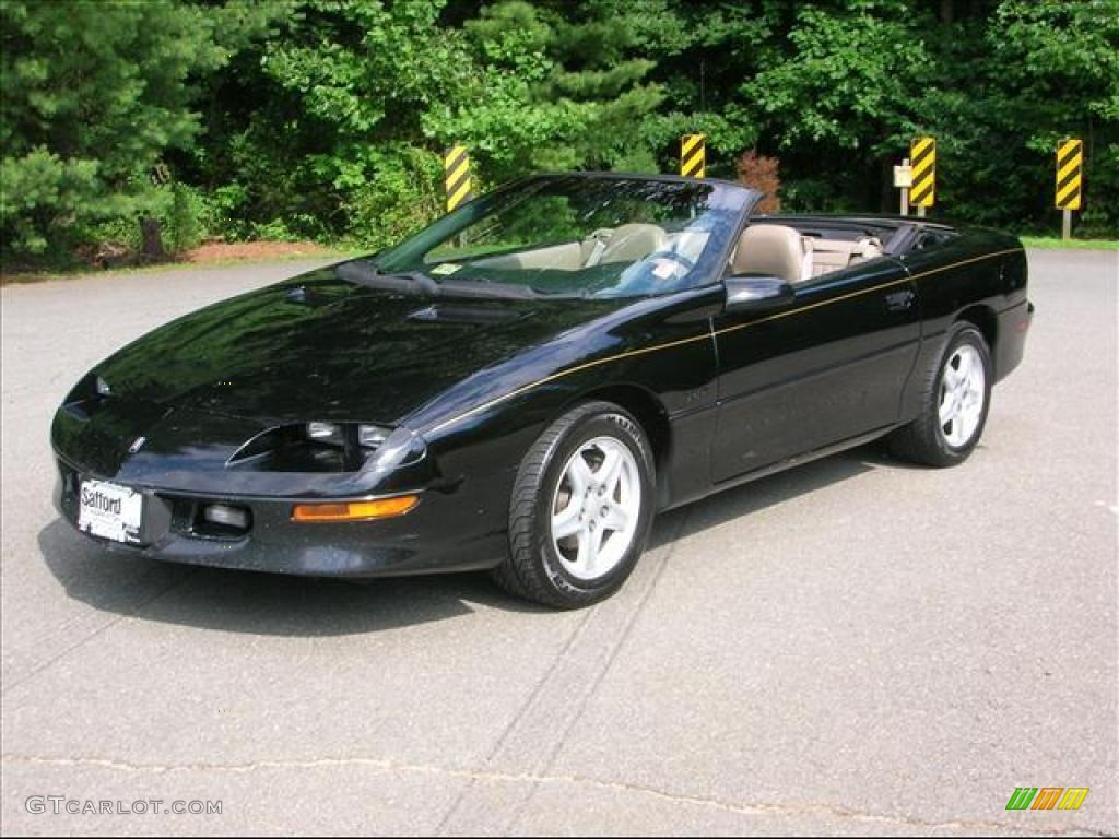 1997 black chevrolet camaro z28 convertible 17172031 car color galleries. Black Bedroom Furniture Sets. Home Design Ideas
