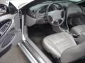 2001 Silver Metallic Ford Mustang GT Convertible  photo #7
