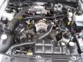2001 Silver Metallic Ford Mustang GT Convertible  photo #22