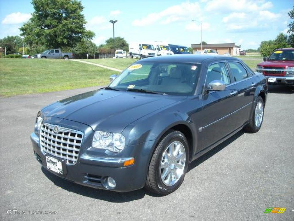 2007 steel blue metallic chrysler 300 c hemi 17171738. Black Bedroom Furniture Sets. Home Design Ideas