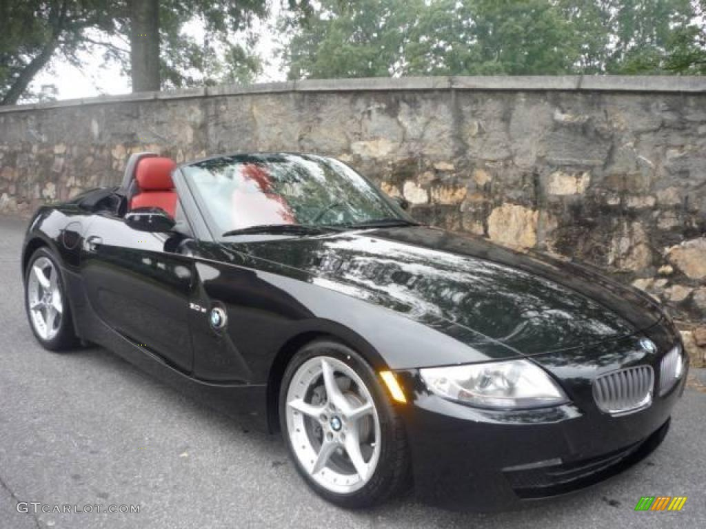2007 Black Sapphire Metallic Bmw Z4 3 0si Roadster 17188572 Gtcarlot Com Car Color Galleries