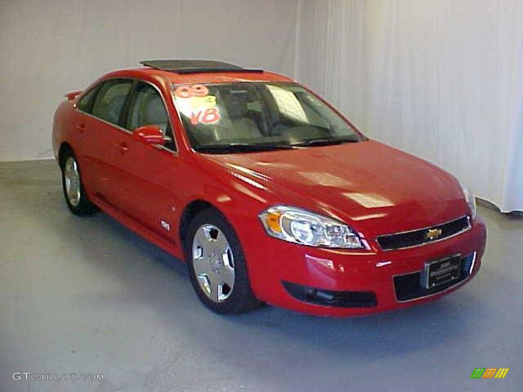 2009 victory red chevrolet impala ss 17198382 gtcarlot com car color galleries