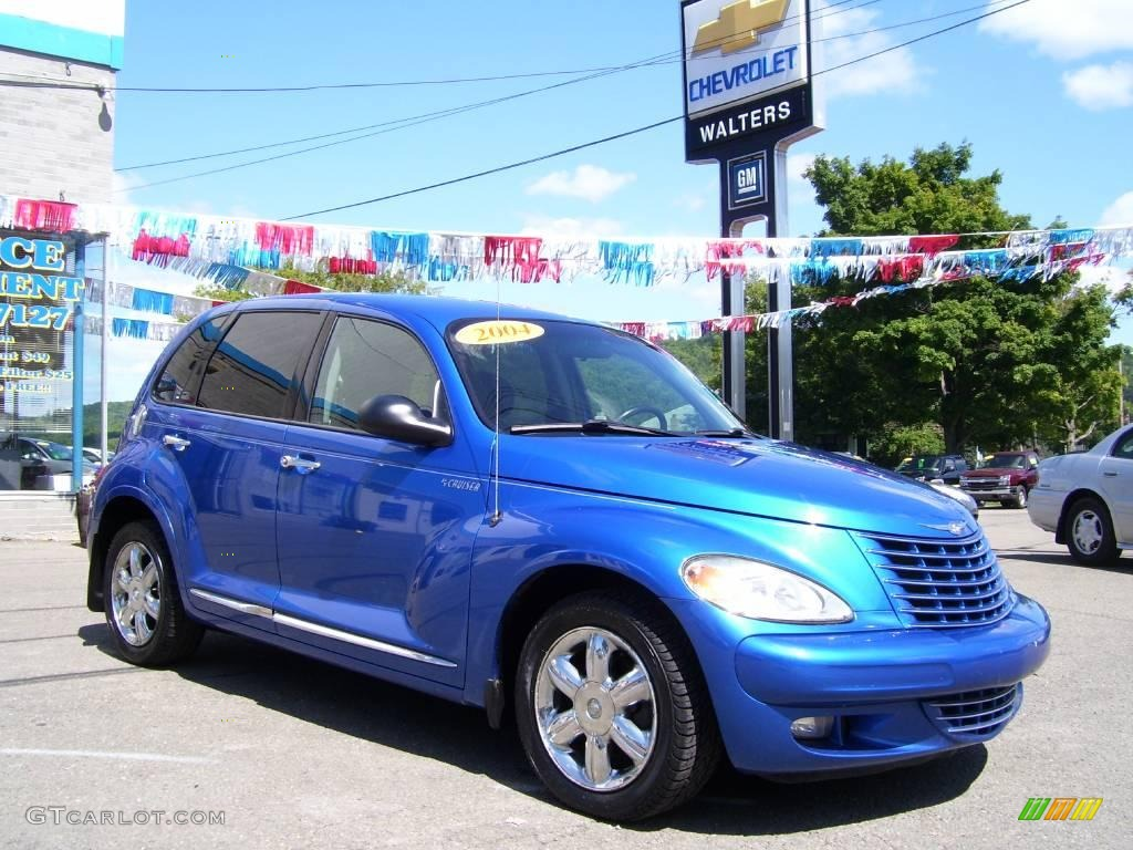 Electric Blue Pearlcoat Chrysler Pt Cruiser