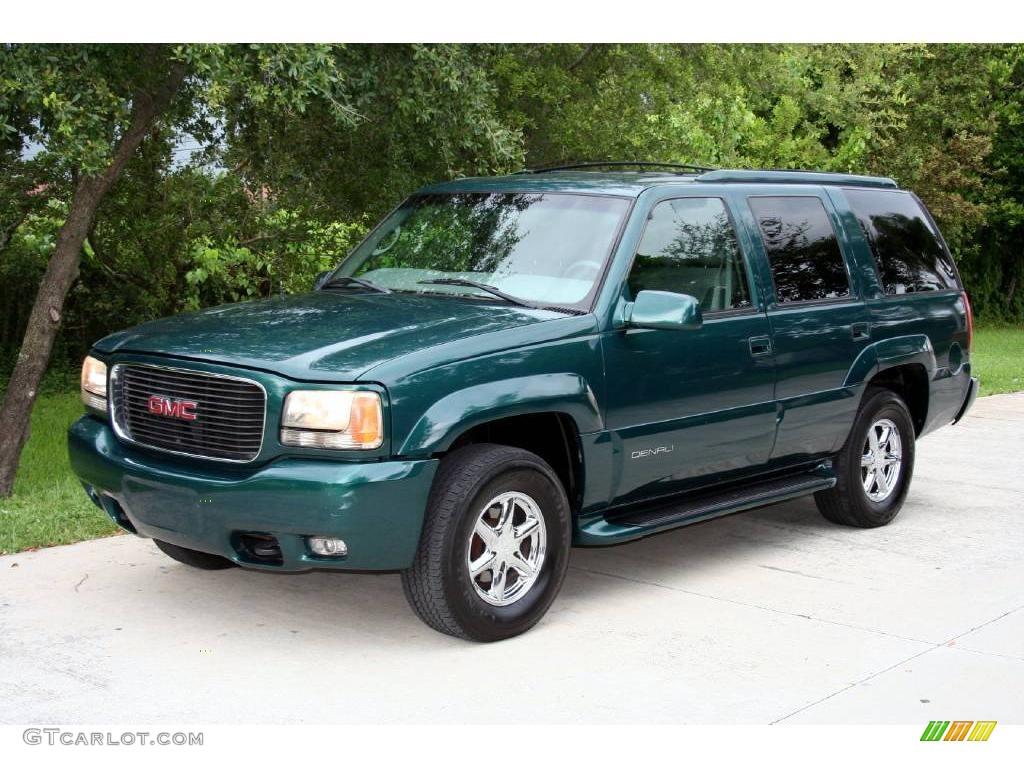 2000 emerald green metallic gmc yukon denali 4x4 17192878 gtcarlot com car color galleries gtcarlot com