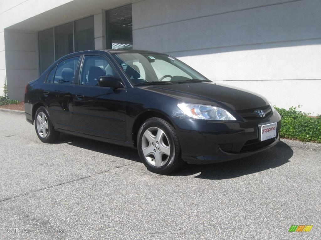 2005 Honda Civic Ex Coupe Black Wroc Awski Informator