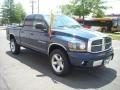 2006 Patriot Blue Pearl Dodge Ram 1500 SLT Quad Cab 4x4  photo #6