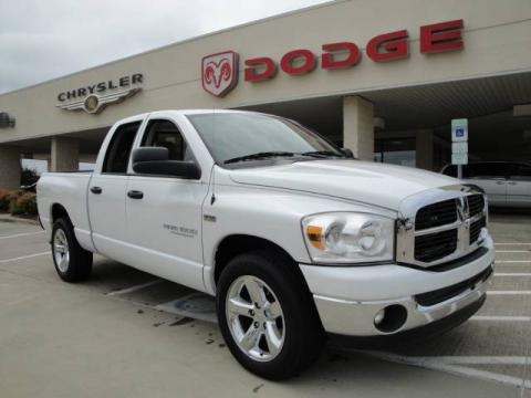 2007 Dodge Ram 1500 Thunder Road Quad Cab Data, Info and Specs