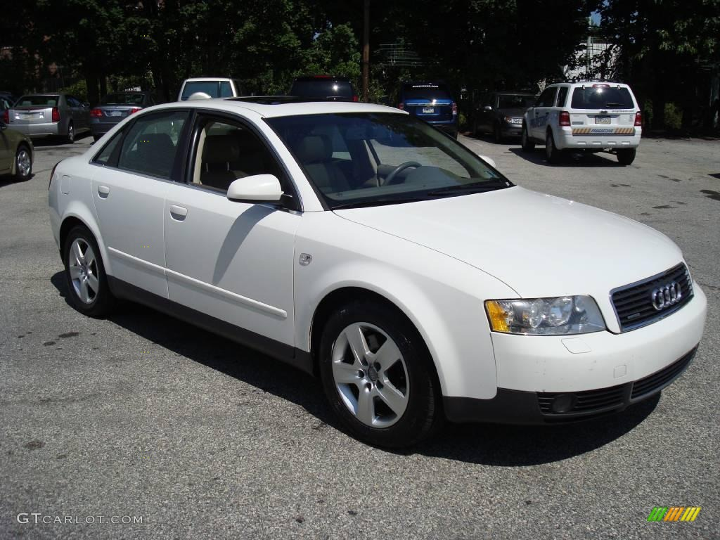 2003 polar white audi a4 3 0 quattro sedan 17262249 photo. Black Bedroom Furniture Sets. Home Design Ideas