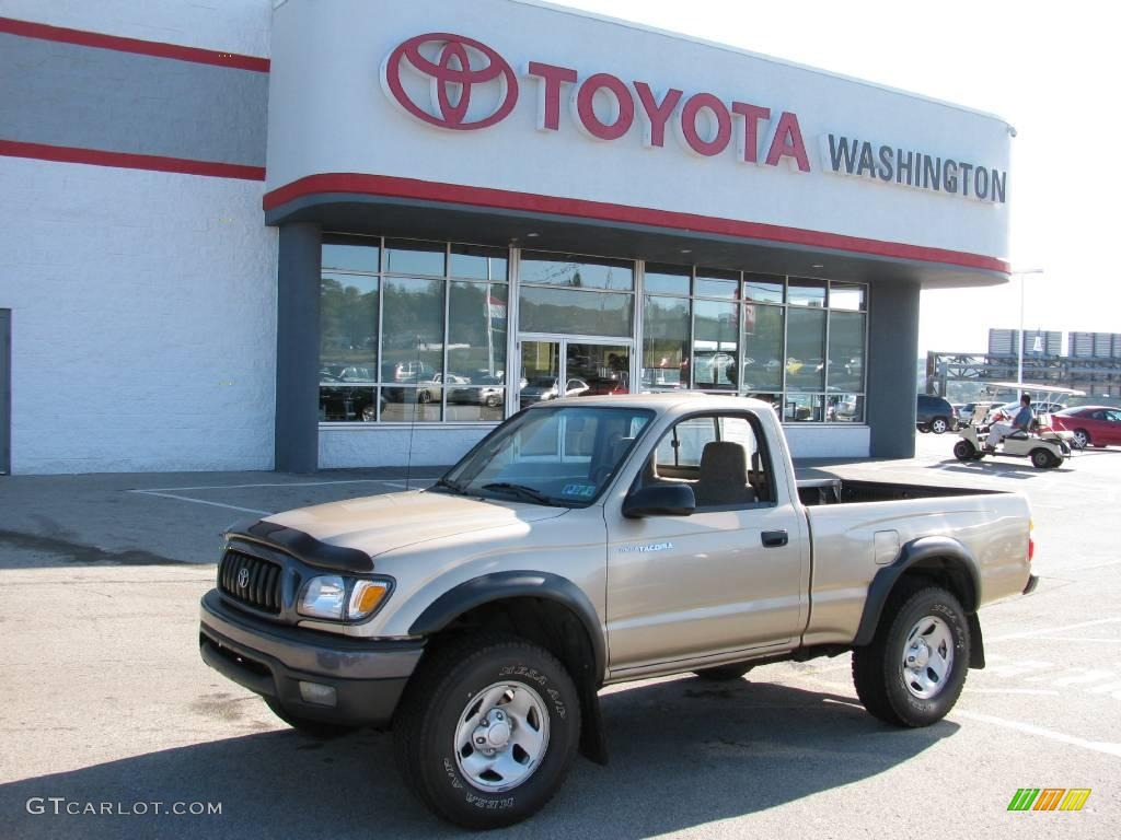 2003 Toyota Tacoma Prerunner For Sale 2003 Tacoma Regular Cab 4x4 - Mystic Gold Metallic / Oak photo #1