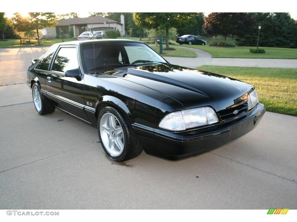 1992 black ford mustang lx 5 0 coupe 17251468 gtcarlot com car