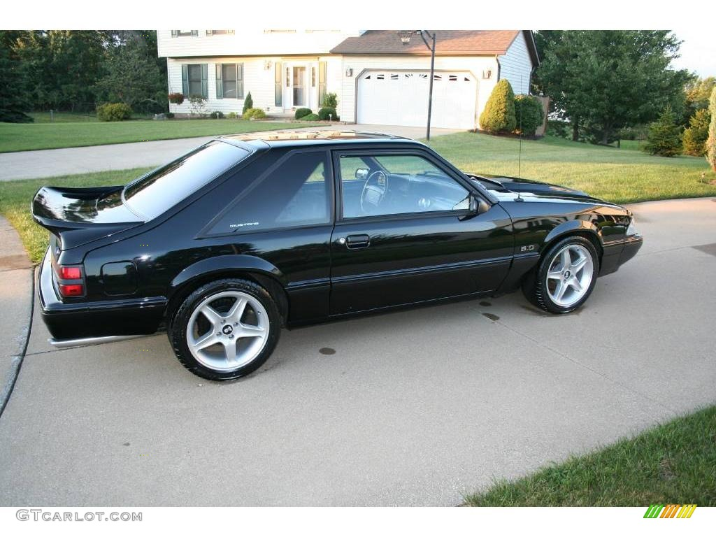 1992 Black Ford Mustang Lx 5 0 Coupe 17251468 Photo 2