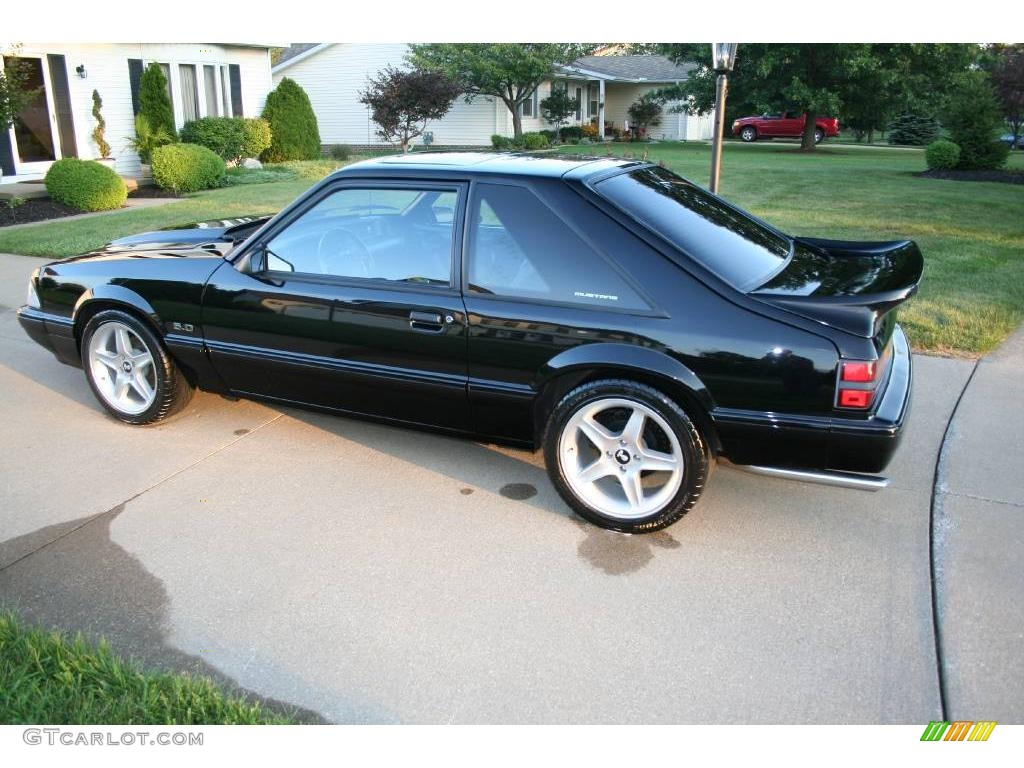 1992 black ford mustang lx 5 0 coupe 17251468 photo 6 gtcarlot