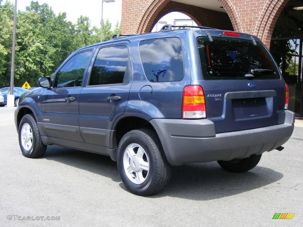 2001 Medium Wedgewood Blue Metallic Ford Escape Xlt V6 17266149 Photo 4 Gtcarlot Com Car Color Galleries