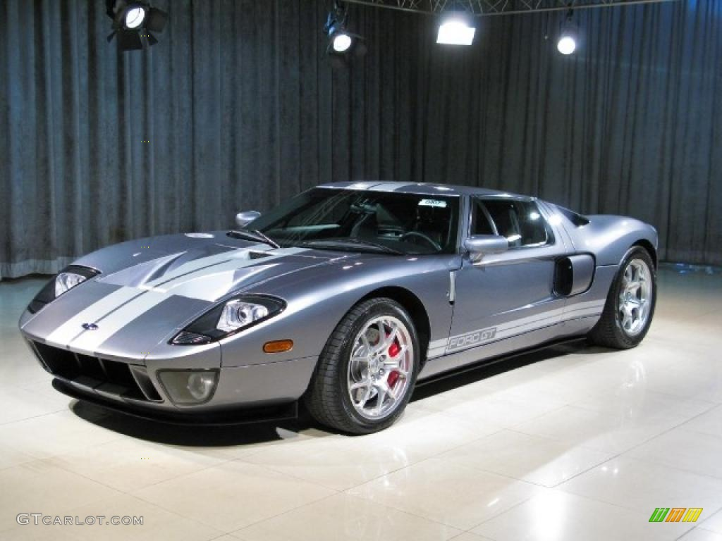 Tungsten Grey Ford Gt