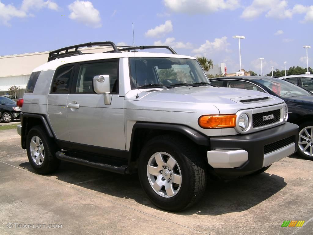 2008 titanium metallic toyota fj cruiser 17257215. Black Bedroom Furniture Sets. Home Design Ideas