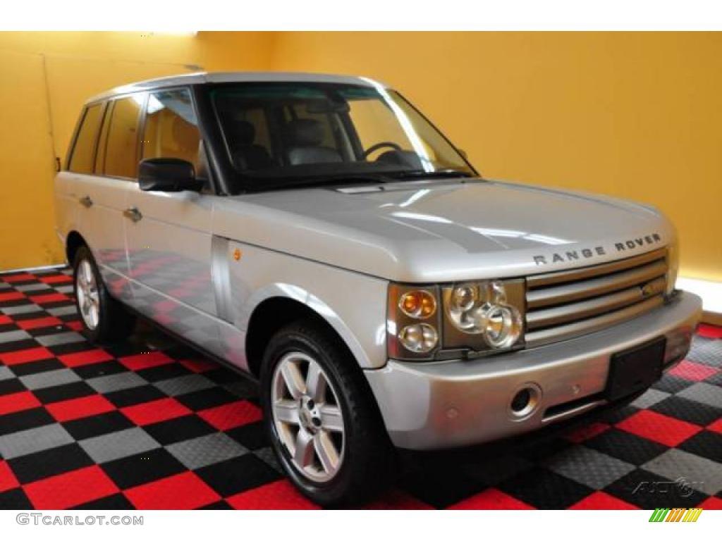 2005 Range Rover HSE - Zambezi Silver Metallic / Charcoal/Jet photo #1