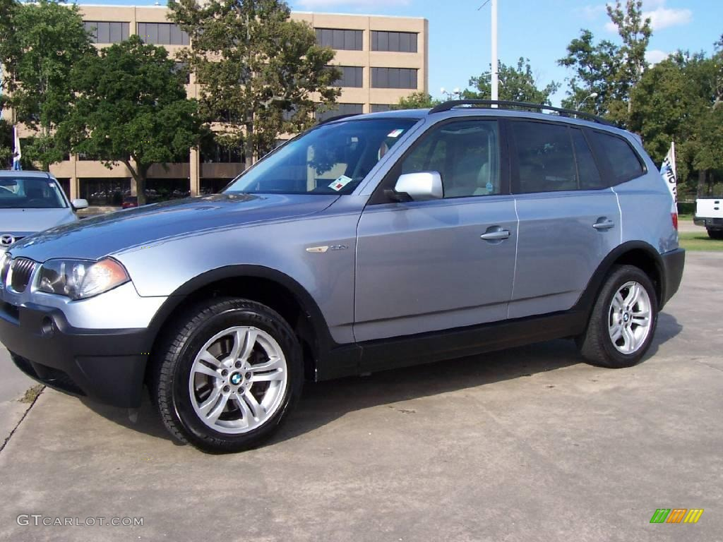 2005 blue water metallic bmw x3 17267459 gtcarlot. Black Bedroom Furniture Sets. Home Design Ideas