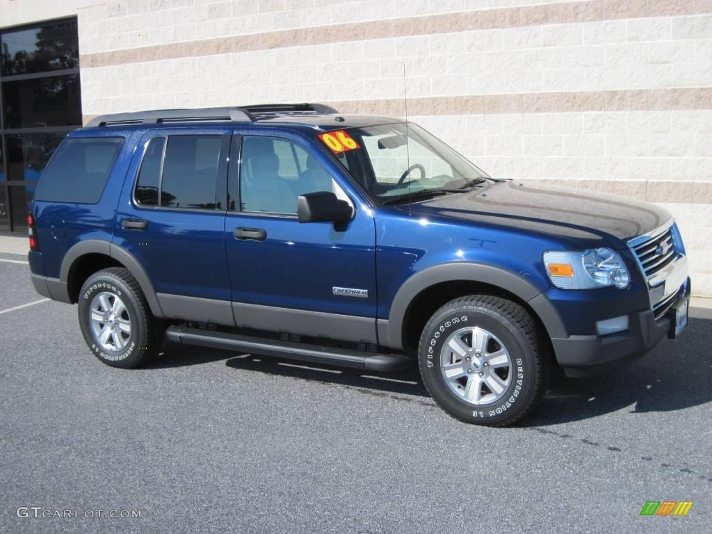 2006 Dark Blue Pearl Metallic Ford Explorer XLT 4x4 17268212