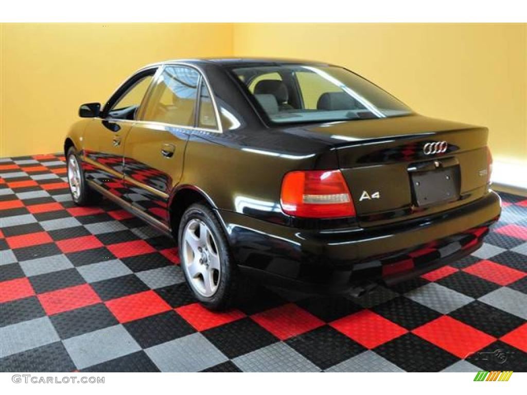 1999 brilliant black audi a4 2 8 sedan 17329100 photo 4. Black Bedroom Furniture Sets. Home Design Ideas