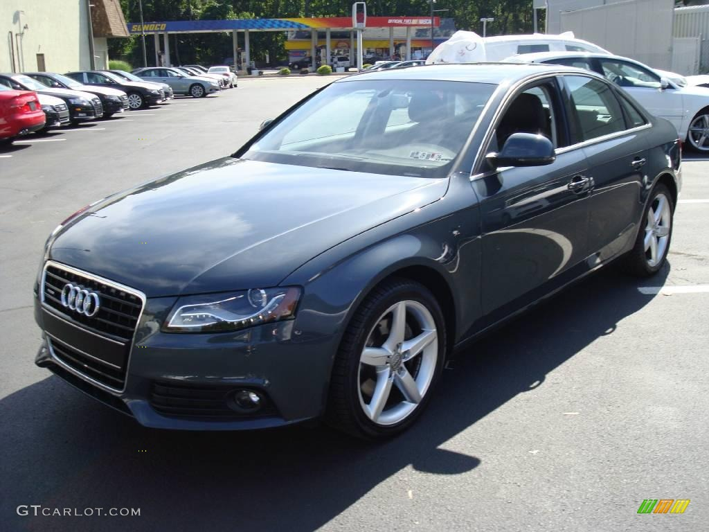2009 Meteor Grey Pearl Effect Audi A4 3 2 Quattro Sedan