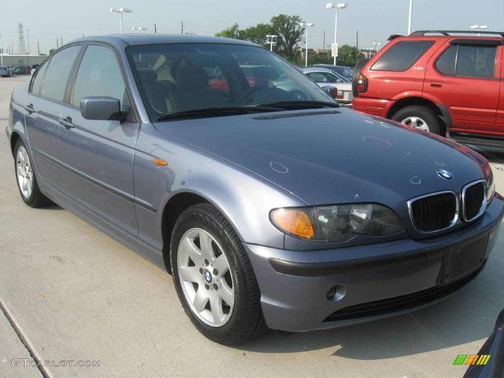2002 Steel Blue Metallic Bmw 3 Series 325i Sedan 17329068