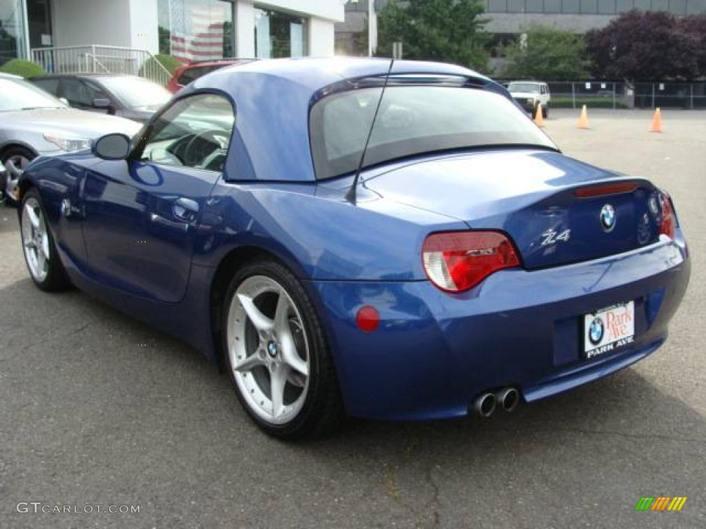 2006 Montego Blue Metallic Bmw Z4 3 0si Roadster 17317417