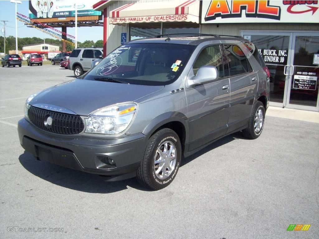 2004 Light Spiral Gray Metallic Buick Rendezvous Cxl Awd