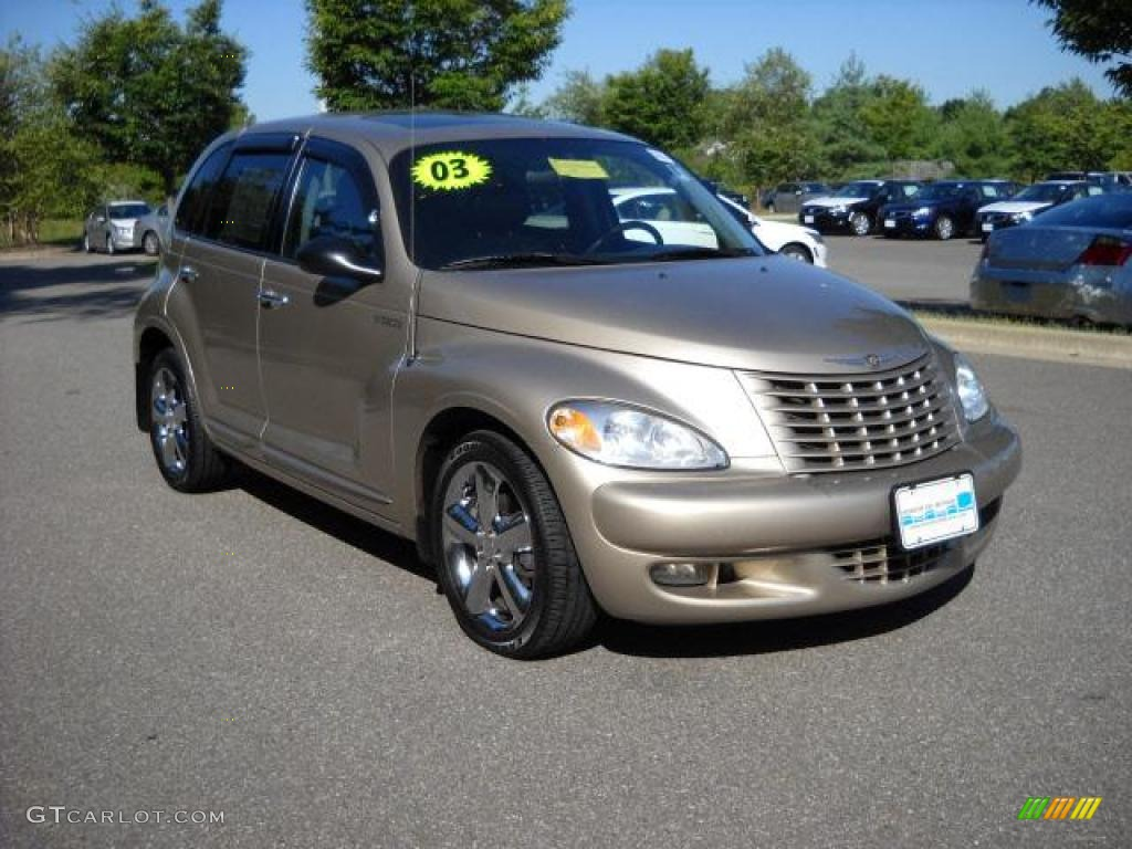2003 light almond pearl chrysler pt cruiser gt 17316458. Black Bedroom Furniture Sets. Home Design Ideas