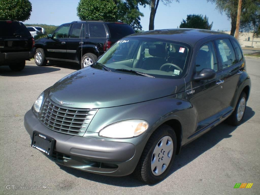 2003 onyx green pearl chrysler pt cruiser 17317911. Black Bedroom Furniture Sets. Home Design Ideas