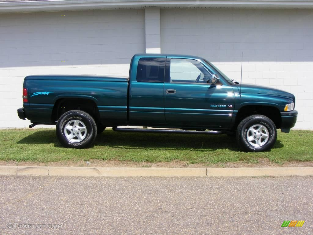 1997 emerald green metallic dodge ram 1500 sport extended cab 4x4 1997 Dodge Ram 1500 Sport Running Board 1997 emerald green metallic dodge ram 1500 sport extended cab 4x4 17331993 photo 34