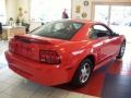 2000 Performance Red Ford Mustang V6 Coupe  photo #5