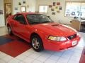 2000 Performance Red Ford Mustang V6 Coupe  photo #7