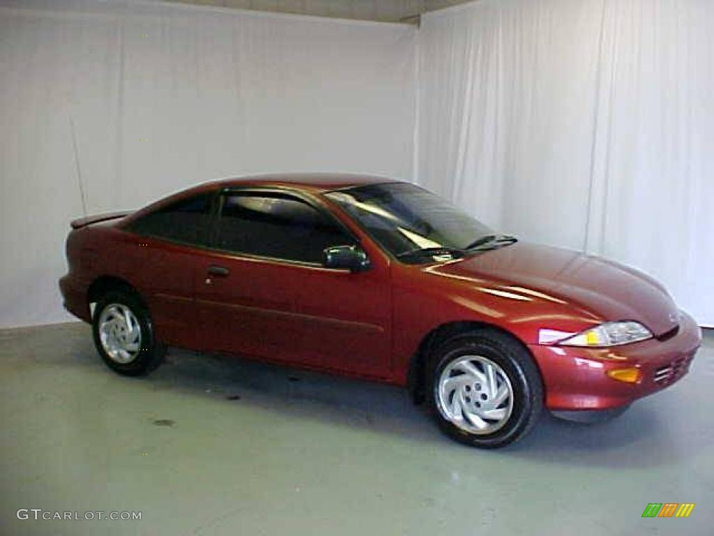1999 chevy cavalier red