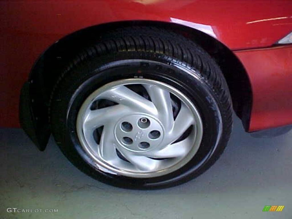 1999 Cavalier Coupe - Cayenne Red Metallic / Graphite photo #8