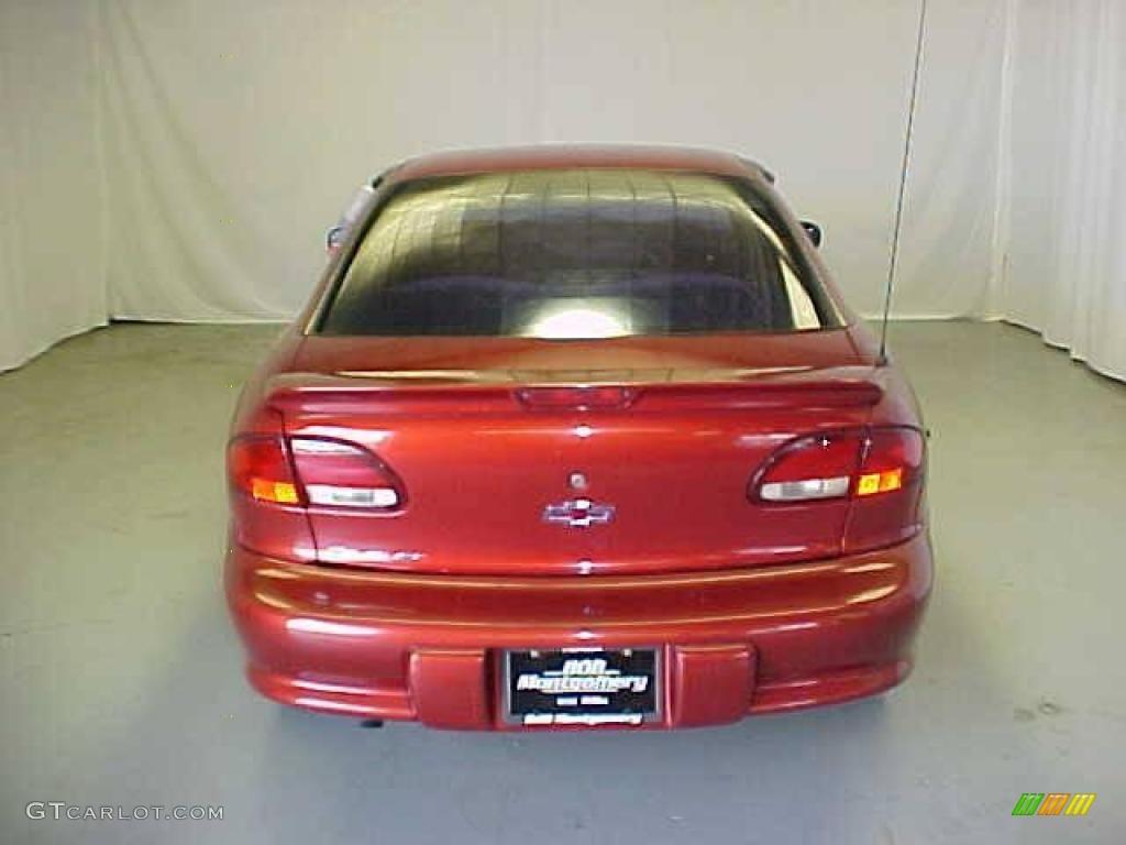 1999 Cavalier Coupe - Cayenne Red Metallic / Graphite photo #18