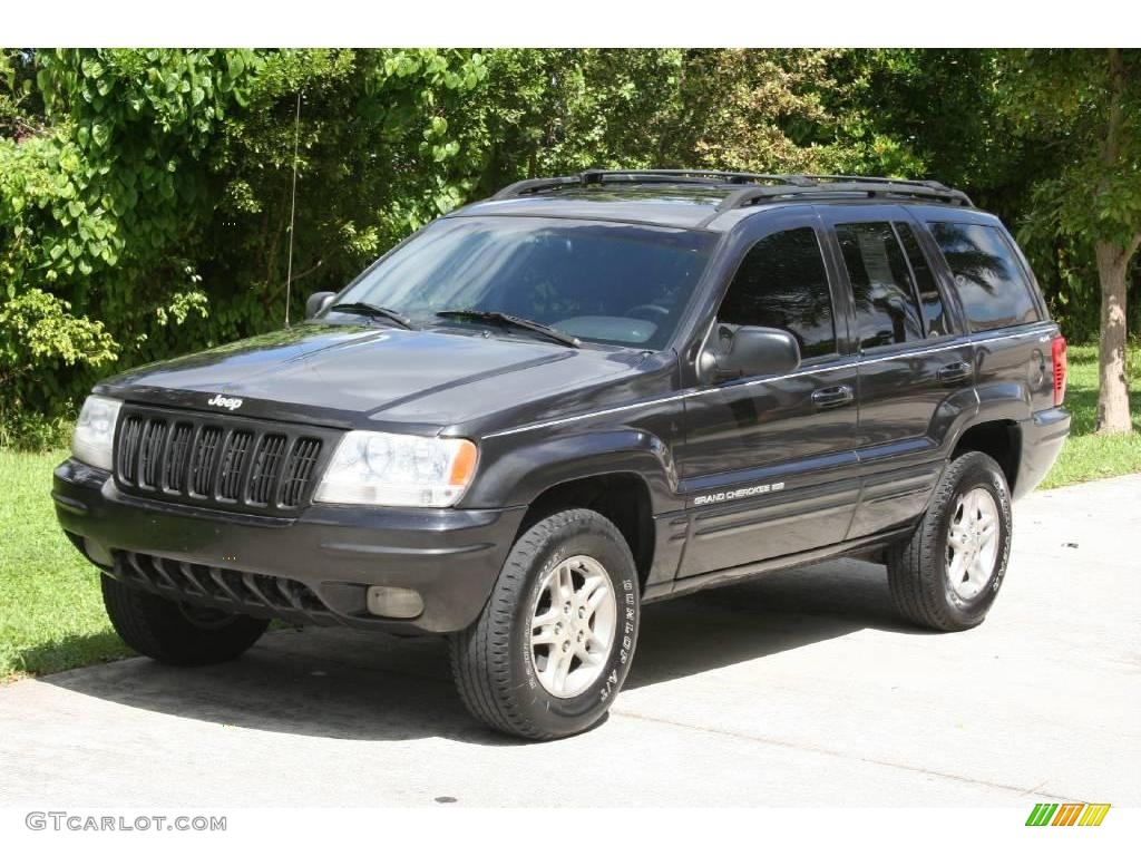 1999 deep slate pearl jeep grand cherokee limited 4x4 17324588 car color galleries. Black Bedroom Furniture Sets. Home Design Ideas