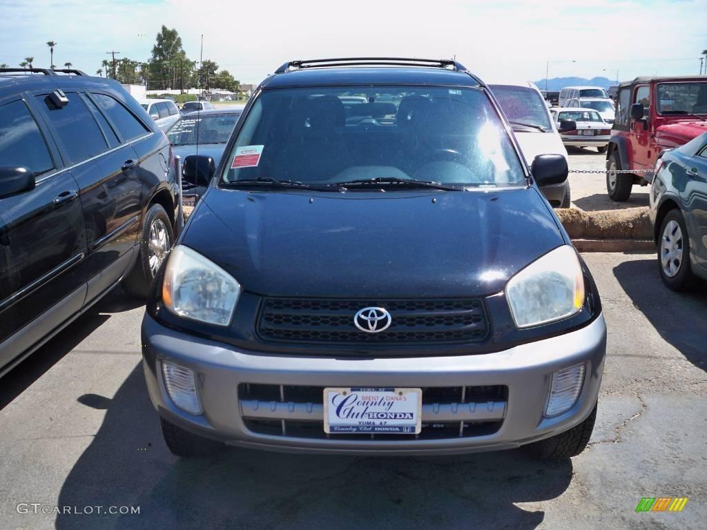 2002 Toyota Rav4 4wd Black Color Gray Interior 2002 Rav4