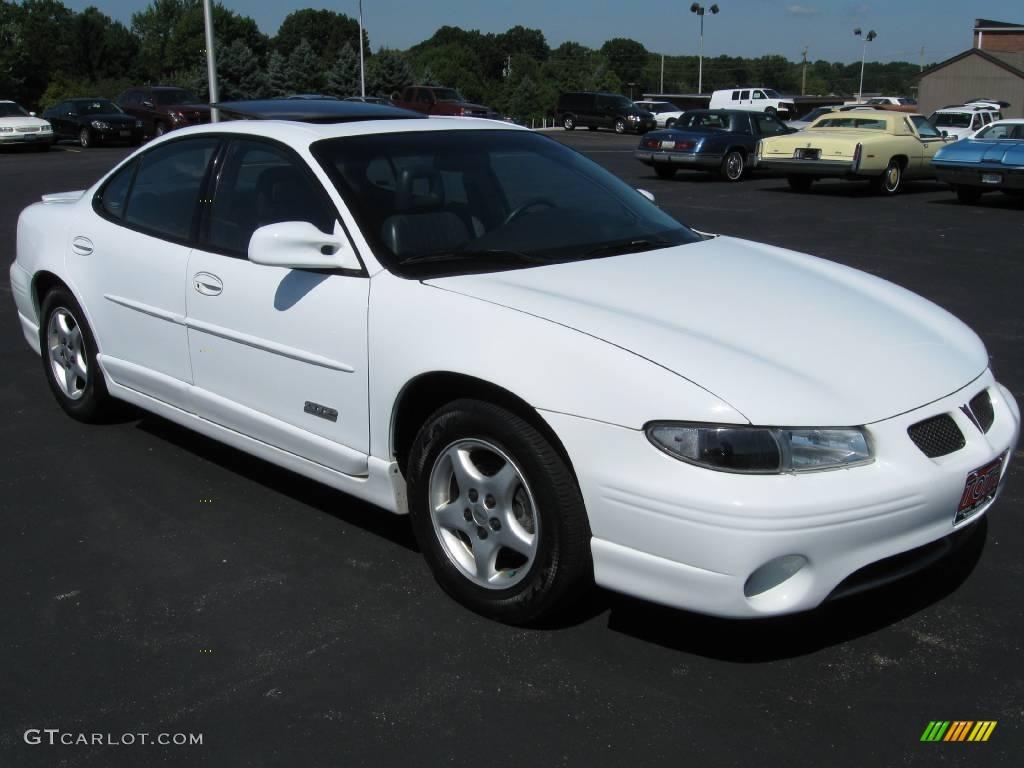 1997 bright white pontiac grand prix gtp sedan 17324712 photo 12 car color. Black Bedroom Furniture Sets. Home Design Ideas
