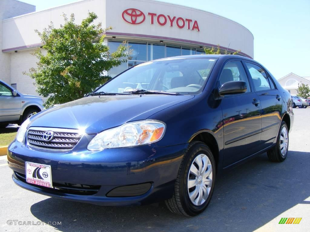 2006 indigo ink pearl toyota corolla ce 17326446 car color galleries. Black Bedroom Furniture Sets. Home Design Ideas