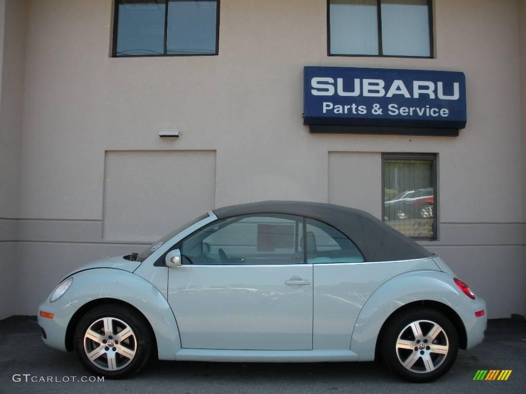 2006 Aquarius Blue Volkswagen New Beetle 2 5 Convertible