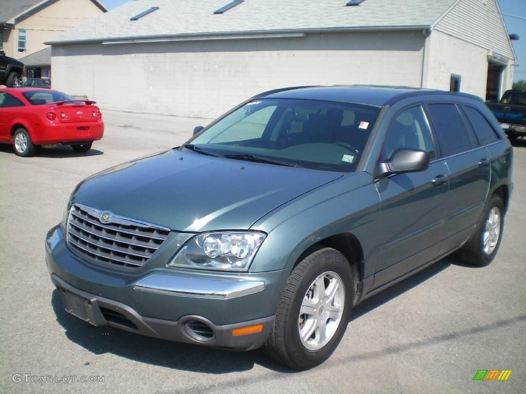 2006 magnesium green pearl chrysler pacifica touring 17317918 car color galleries. Black Bedroom Furniture Sets. Home Design Ideas