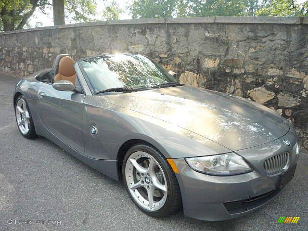 2007 Stratus Grey Metallic Bmw Z4 3 0si Roadster 17404452