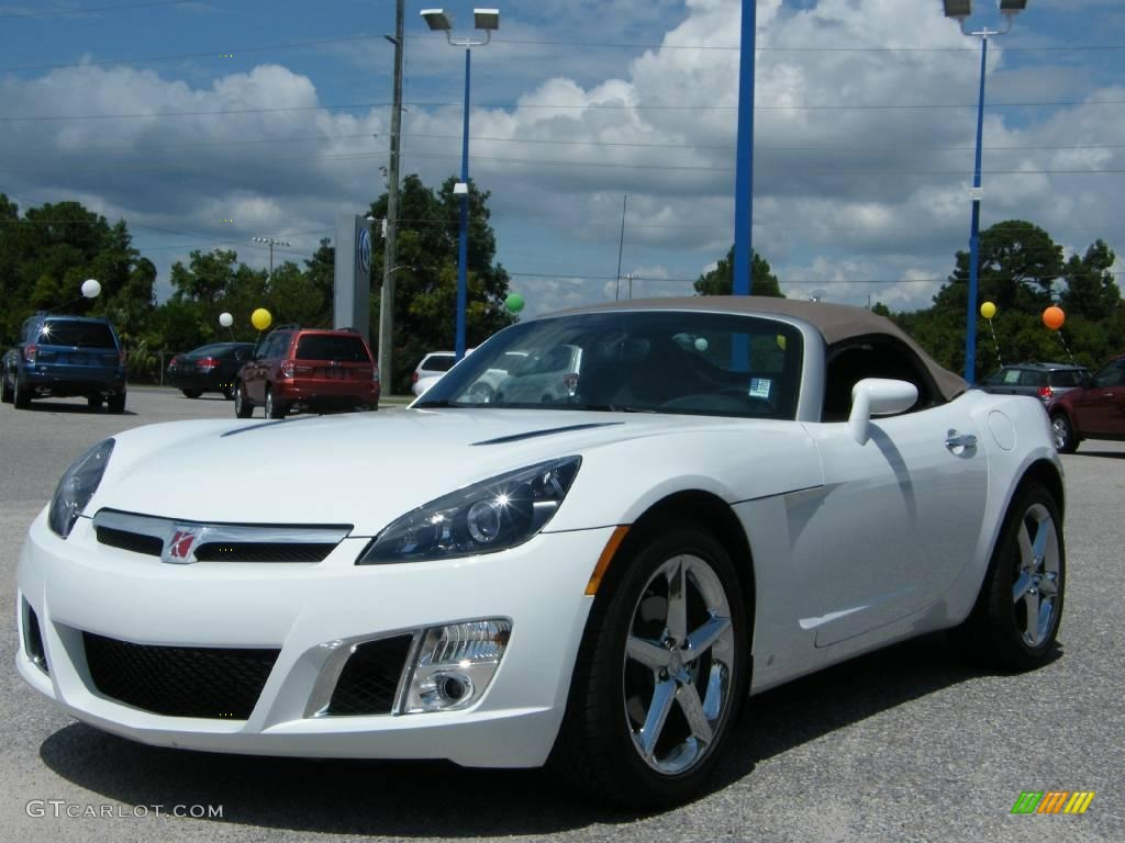2009 polar white saturn sky red line roadster 17405287 car color galleries. Black Bedroom Furniture Sets. Home Design Ideas