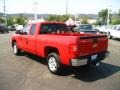 2009 Victory Red Chevrolet Silverado 1500 LT Extended Cab  photo #5