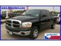 2006 Black Dodge Ram 1500 ST Quad Cab  photo #1