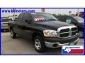 2006 Black Dodge Ram 1500 ST Quad Cab  photo #4
