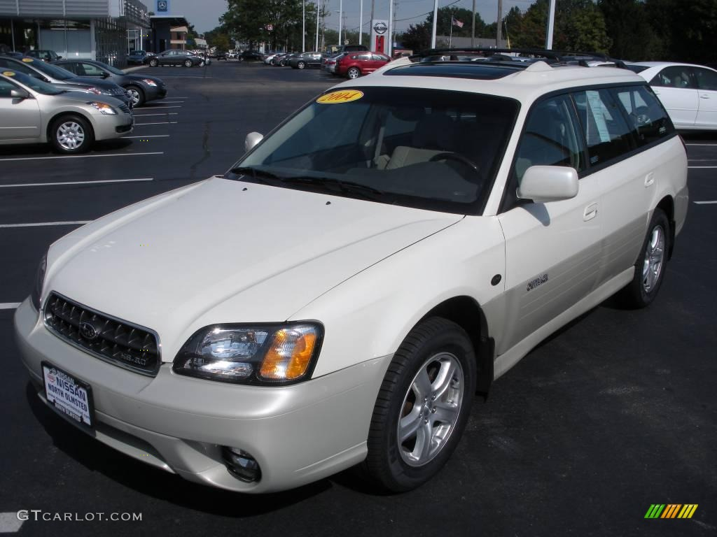 2004 white frost pearl subaru outback 30 llan edition wagon 2004 outback 30 llan edition wagon white frost pearl beige photo 1 vanachro Images