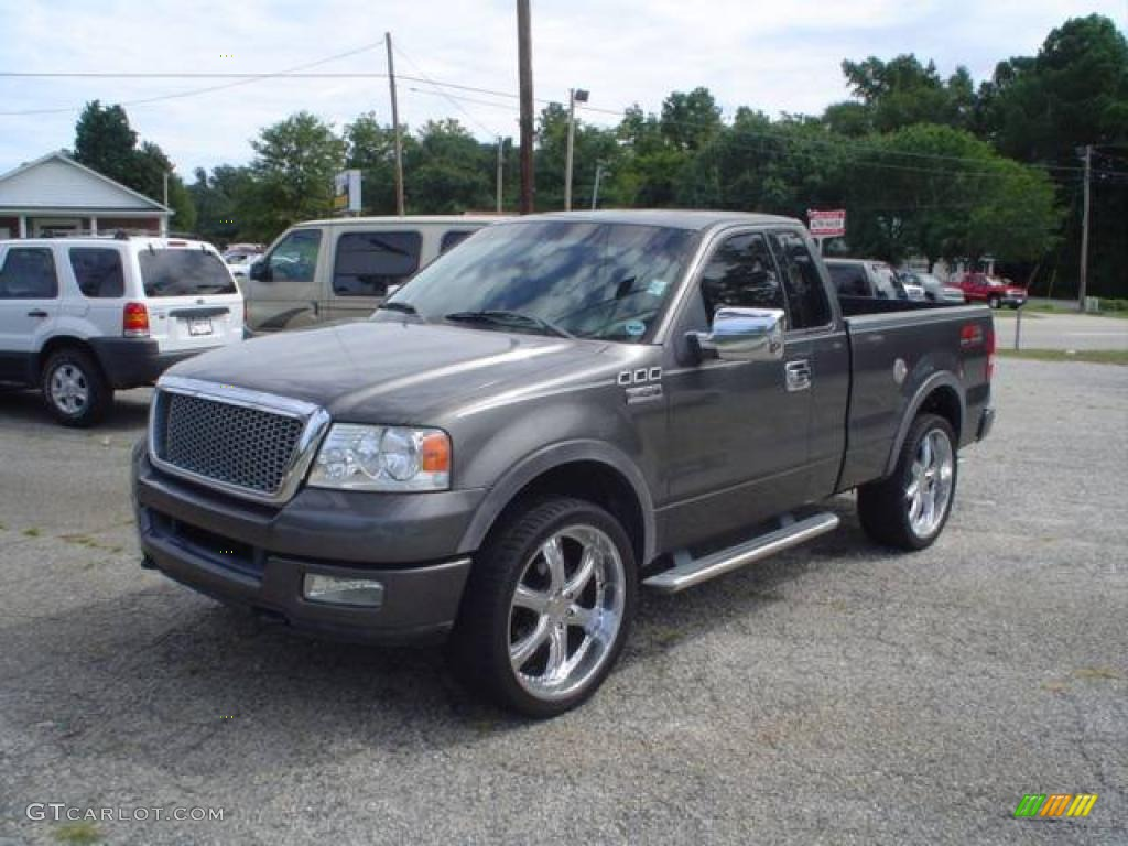 2004 dark shadow grey metallic ford f150 fx4 regular cab. Black Bedroom Furniture Sets. Home Design Ideas