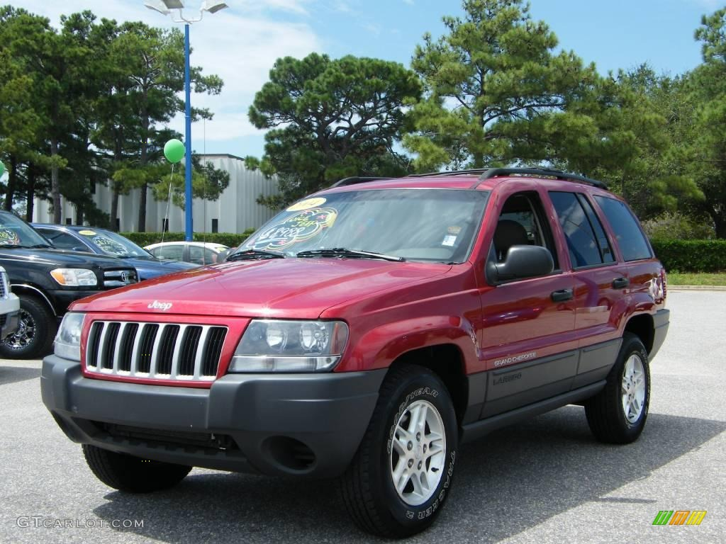 2004 inferno red pearl jeep grand cherokee laredo. Black Bedroom Furniture Sets. Home Design Ideas